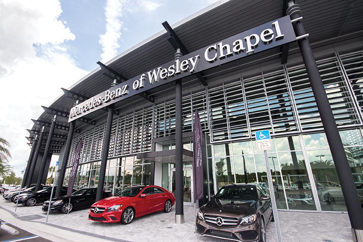 Wccc gets mercedes benz tour for Mercedes benz dealership locations