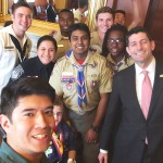 Local Eagle Scout Speaks To Congress!
