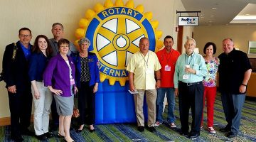 The Rotary Club Of New Tampa Caps Off Its Fiscal 2015-16 Year