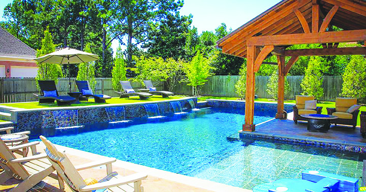 Olympus pools can add value to your home create family for Pool design tampa