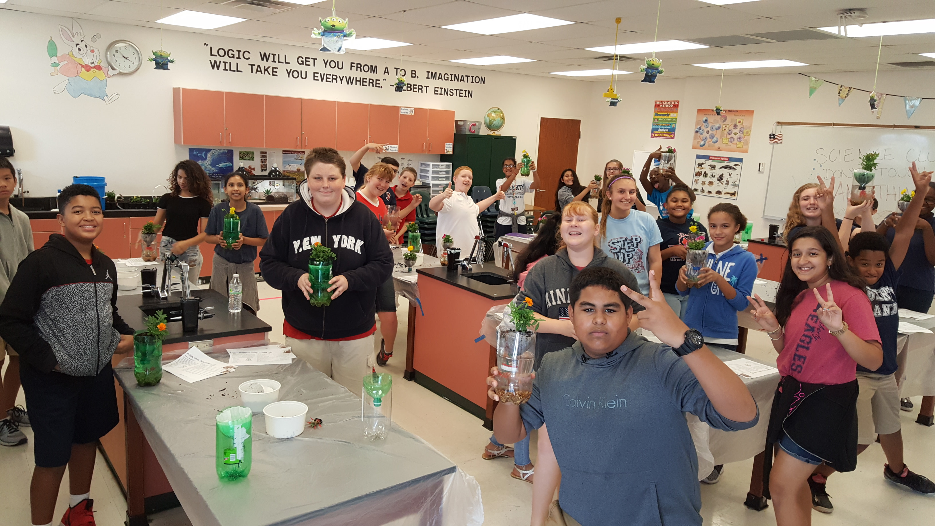 In School Clubs Inspire Students At Liberty Mathcounts