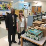 Local Girl Scout Donates 4000 Books