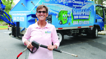 Let Scrub-A-Dub Bin Cleaning Clean Your Stinky Trash & Recycling Bins