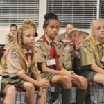 Three Wesley Chapel Girls The First To Join New Boy Scouts Program