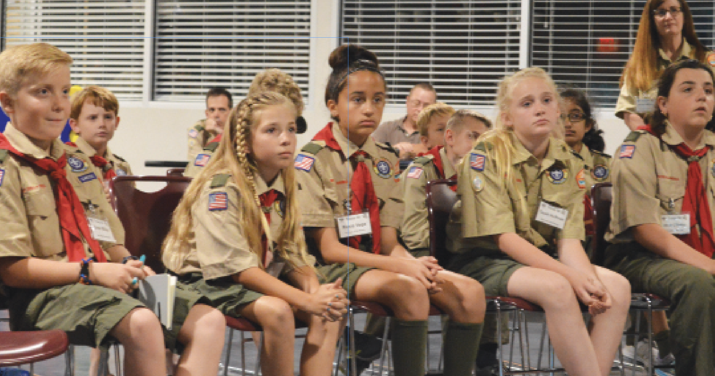 Three Wesley Chapel Girls The First To Join New Boy Scouts