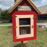 Check Out The Little Free Library At The New Tampa Family YMCA!